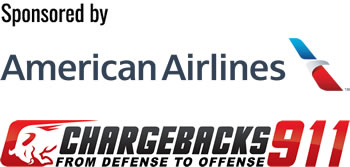 Sponsored by American Airlines and Chargebacks911