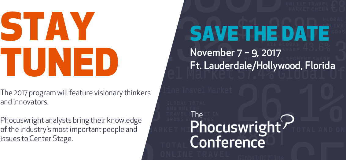 Save the Date: November 7 - 9, 2017
