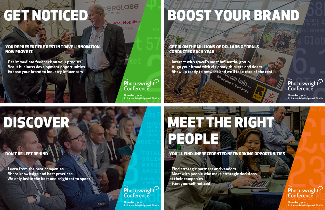 Ways to Boost Your Brand at The Phocuswright Conference through Sponsorship, Partnership and Attending