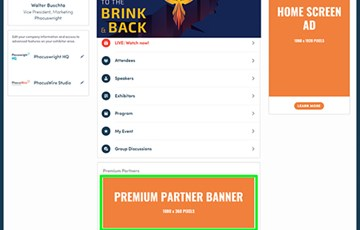 Premium Partner Banner Ad (One Day)
