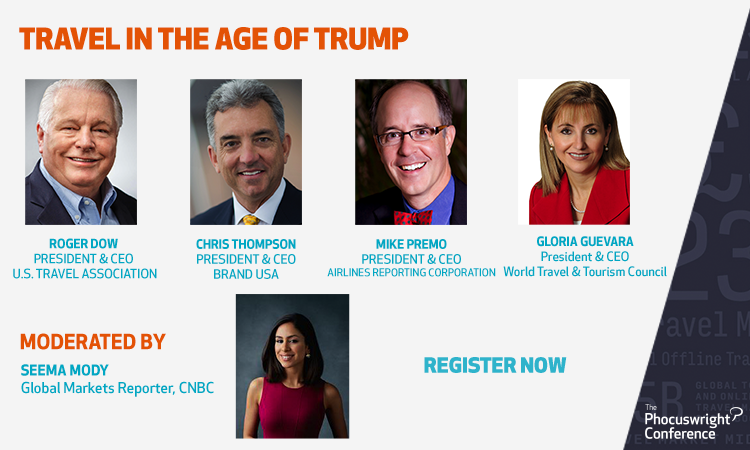 Travel In The Age Of Trump The Phocuswright Conference Online 2020 November 11 12 And 17 19 2020